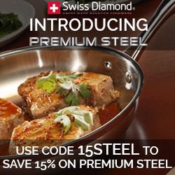 Premium Steel by Swiss Diamond - Save 15%